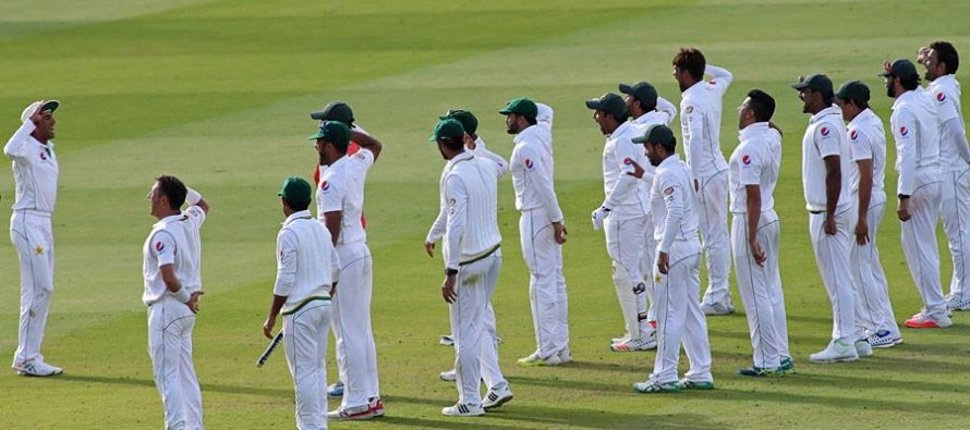 Pakistan move to 2nd spot in ICC Test rankings