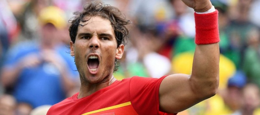 Nadal eyes double gold after giving up on mixed