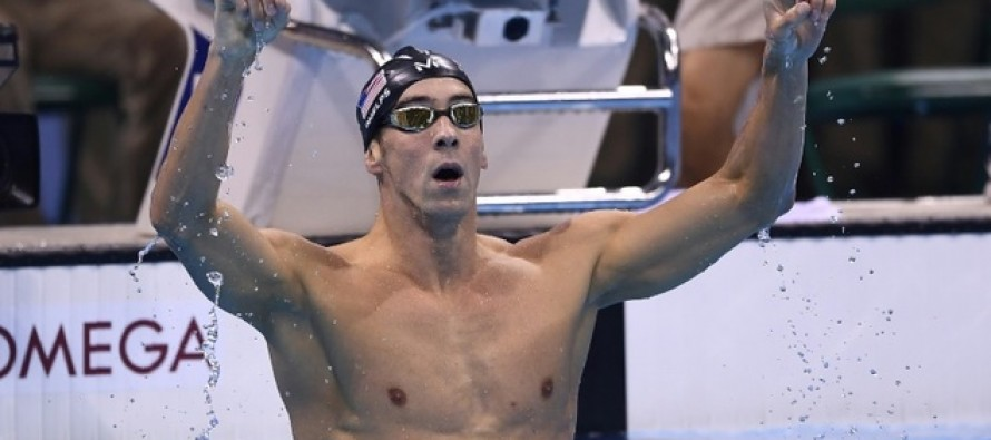 21 gold Phelps still rules the pool