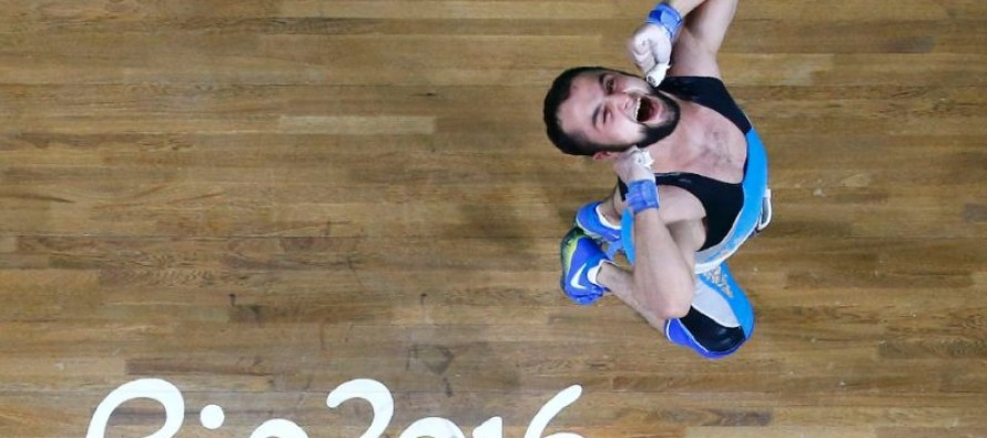 Drug offender claims weightlifting gold