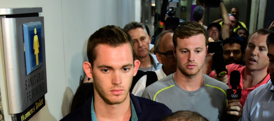 Brazil police pull U.S. swimmers from flight amid robbery probe