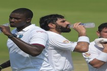 Pakistan reach 401-6 against West Indies