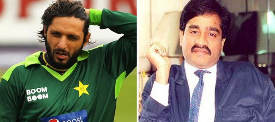 Shahid Afridi threatened by underworld don Dawood Ibrahim