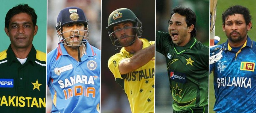 Cricketers who were born on the 14th of October