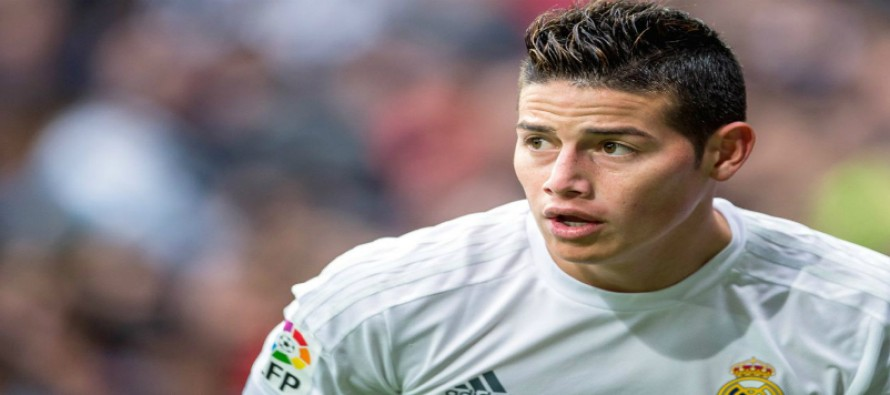 Colombia investigates death threats against Real Madrid's James