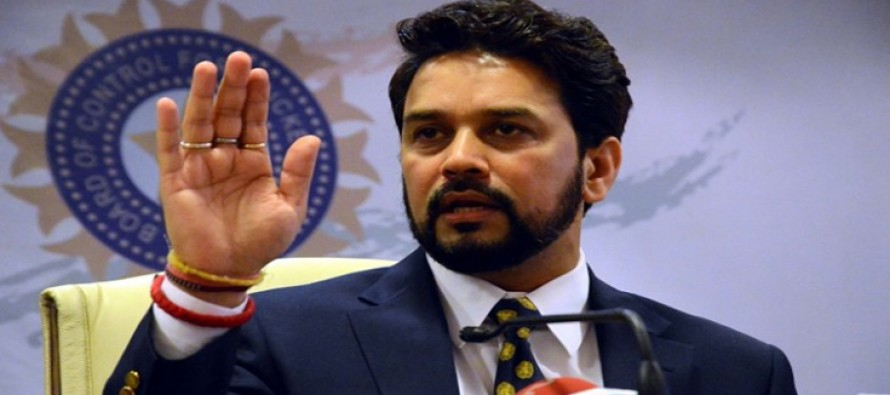 PCB believes Anurag Thakur is 'playing for the gallery'