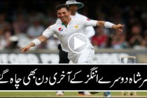 Yasir Shah completes 5 wickets, West Indies 2nd test 2016