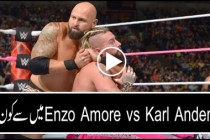 Enzo Amore vs Karl Anderson: Raw, Oct. 24, 2016