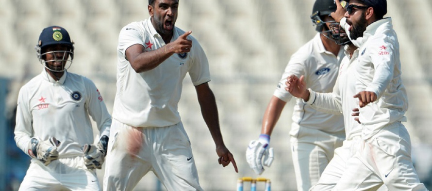 India dethrone Pakistan by winning second test against NZ