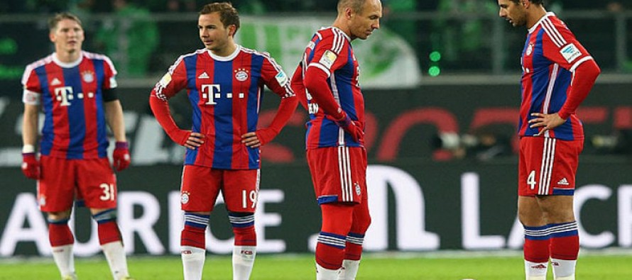 Bayern held at home as Ancelotti misses record