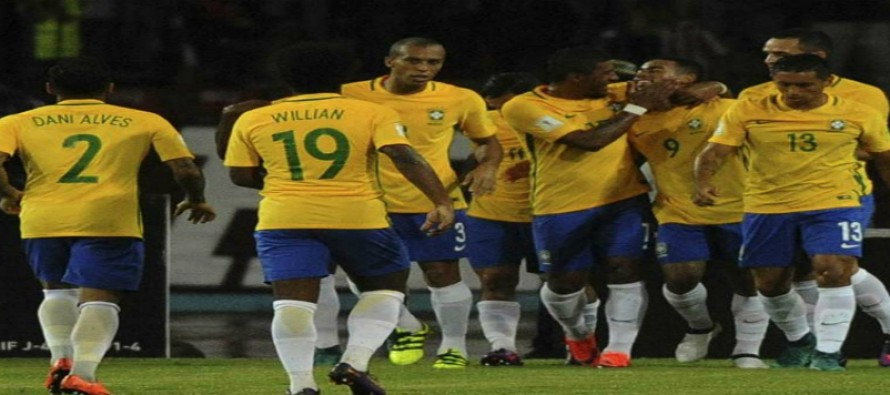 Brazil go top, Argentina stunned in World Cup qualifiers