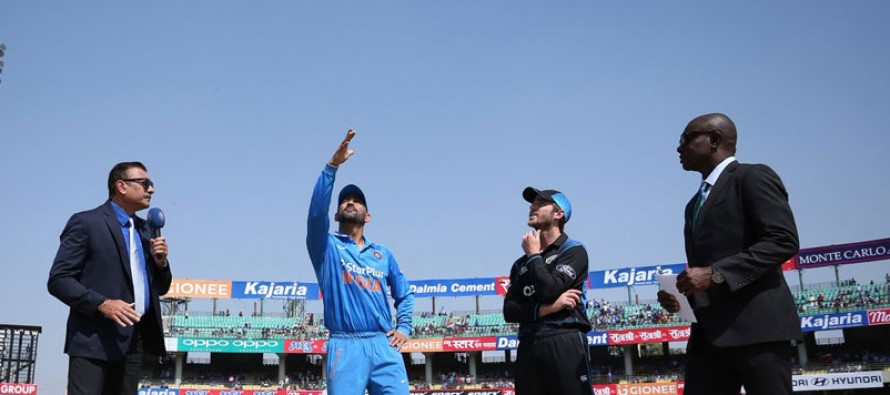 India bowl first in third New Zealand ODI