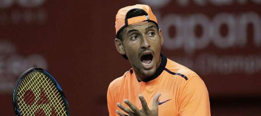 Troubled Kyrgios eyes more time off next year