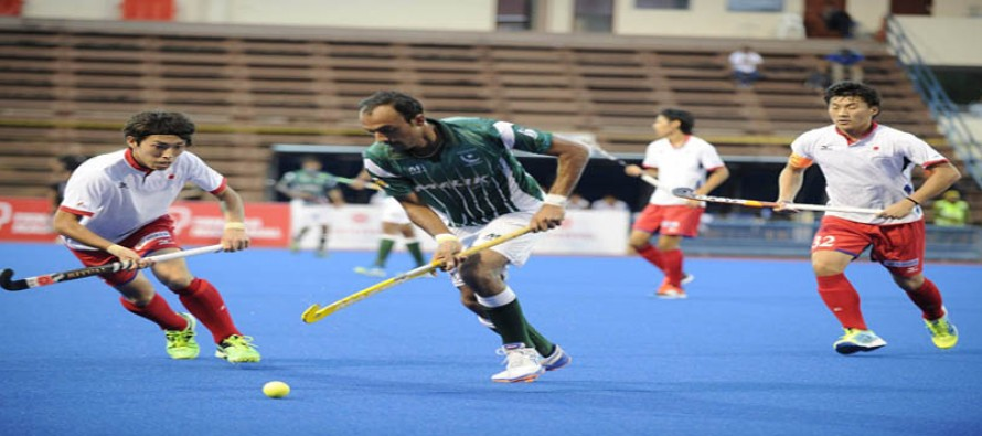 Pakistan advance to semi-final of Asian Men's Champions Trophy