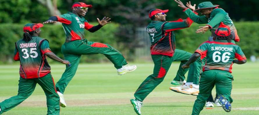 Kenya to host first international cricket in four years