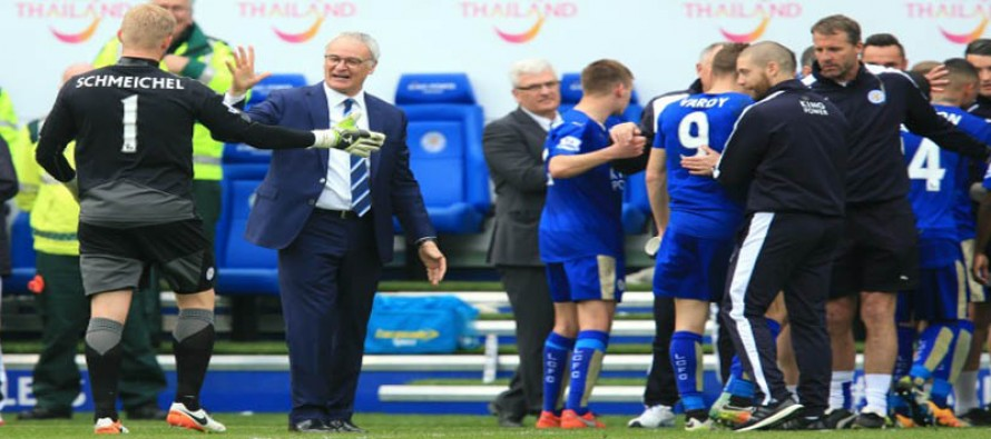 Ranieri confident Foxes on track to start flying again