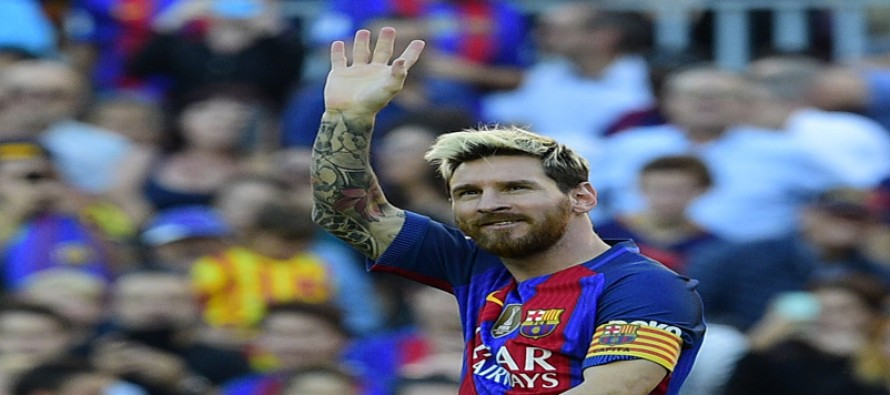 Messi scores on return in Barca rout, Sevilla top
