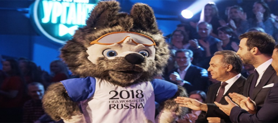 Fun-loving wolf named as World Cup mascot
