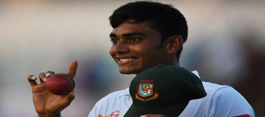 Bangladesh debutant teenager puts England in a spin