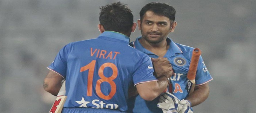 India skipper Dhoni relying more on Kohli