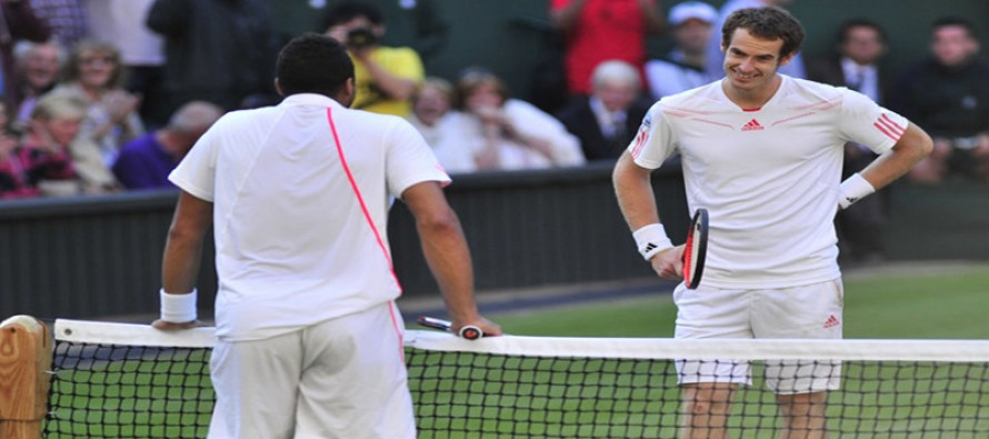 Free-pass Murray to face Tsonga for Vienna title