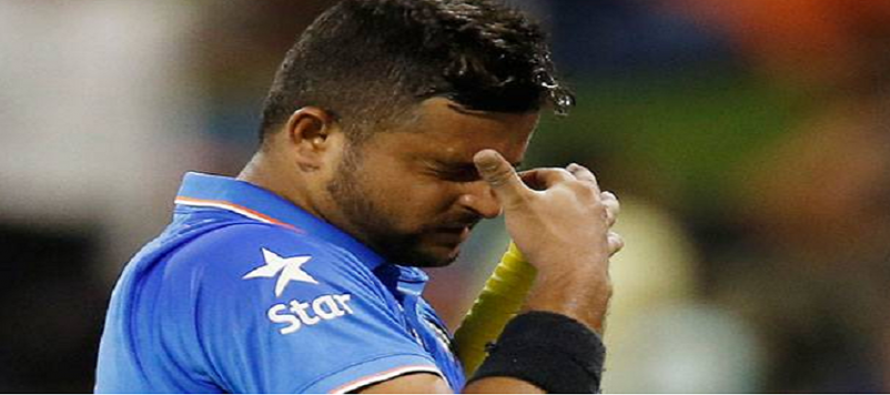 India's Raina ruled out of first ODI against New Zealand