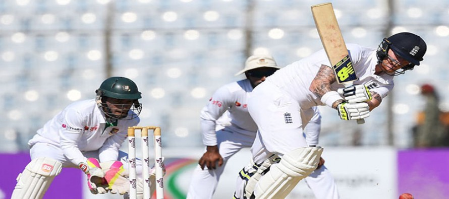 Stokes leads England fightback after spin woes