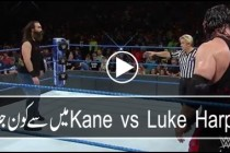 Kane vs Luke Harper Full Match – WWE Smackdown
