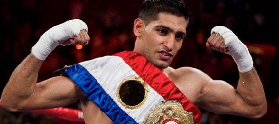 Amir Khan to be honoured with a special award at the next WBC Convention