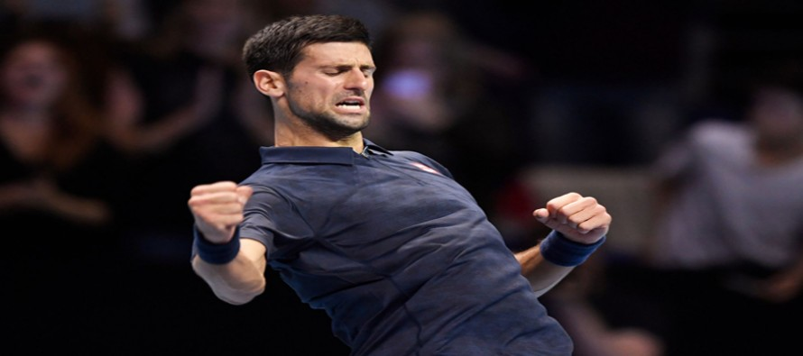Ruthless Djokovic routs Goffin in Tour Finals