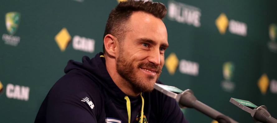South Africa's Du Plessis charged with ball tampering