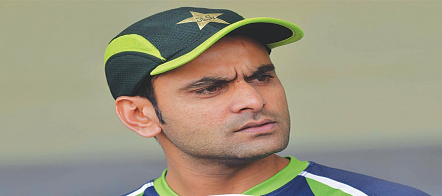"""""""I just want to satisfy the bowler inside me after clearing this test,"""" Hafeez"""