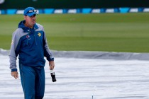 Rain washes out first day of Christchurch Test