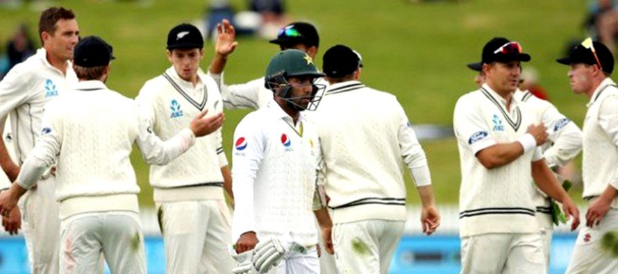 Pakistan collapse to first series defeat to NZ in 30 years
