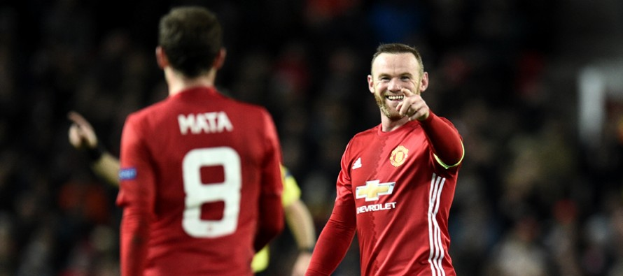 Inter slump out of Europe as Rooney ignites Man Utd