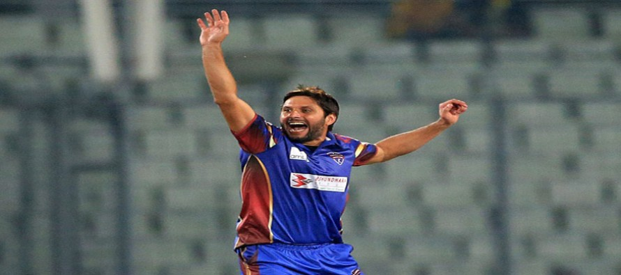 Shahid Afridi completes 250 wickets in T20s