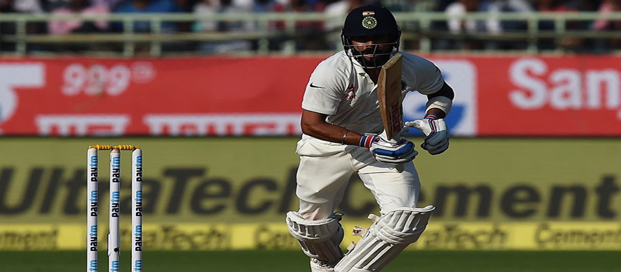 Kohli fifty puts India in driver's seat