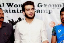 MMA fighters Ahmed 'Wolverine' Mujtaba, Ovais Shah honoured in Karachi