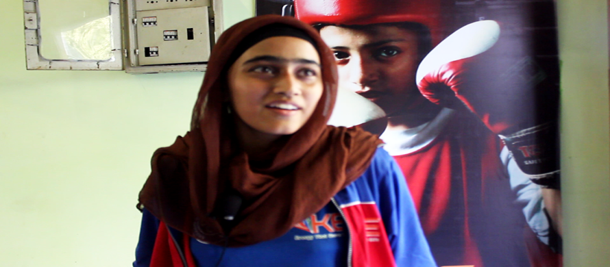 """""""I want to win a gold medal in Olympics,"""" says young Zaib Un Nisa"""