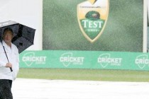 Rain washes out second day in Hobart Test