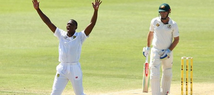 Rabada pushes South Africa towards victory