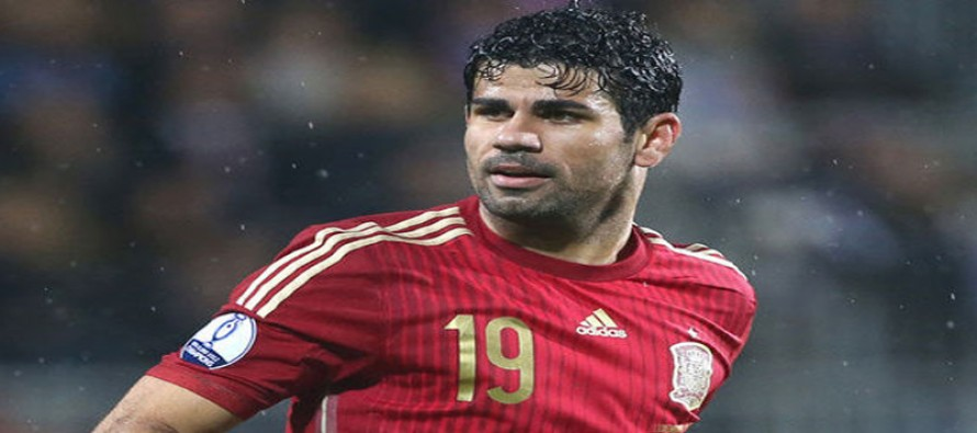 Chelsea's Costa out of Spain squad through injury