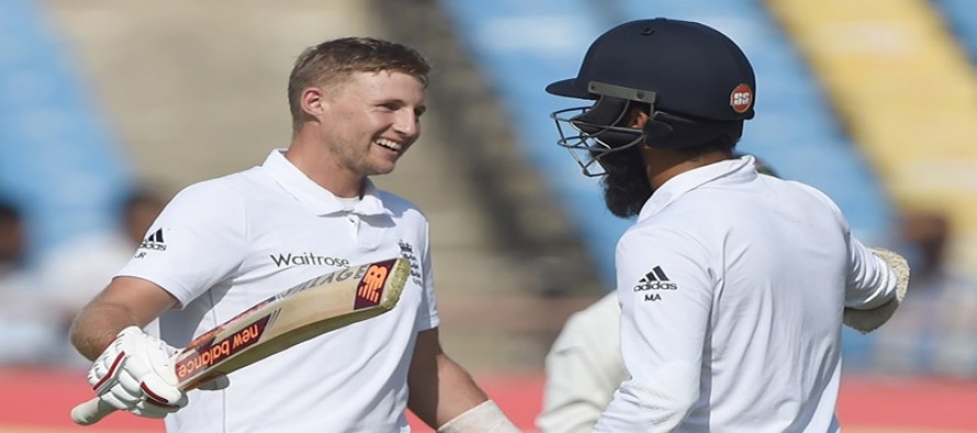 Root and Moeen put England on top against India