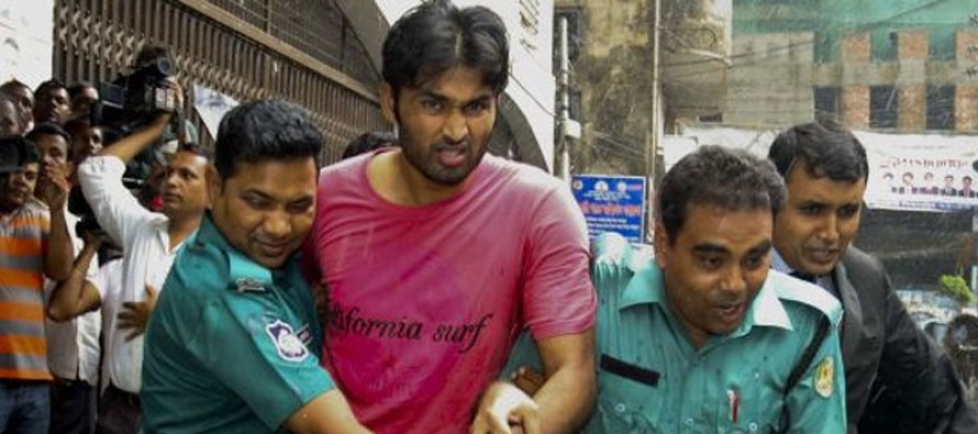 Bangladesh player acquitted in maid torture case