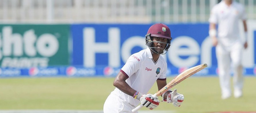 West Indies dismissed for 337, lead by 56