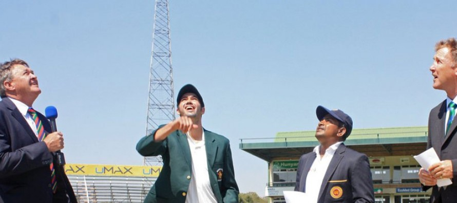 Zimbabwe win toss in second Test