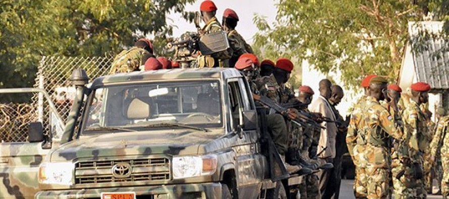 Eight football fans killed in South Sudan bar shooting