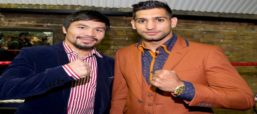 """Let's make this fight happen for the fans,"" Khan reacts to Pacquiao's comments"