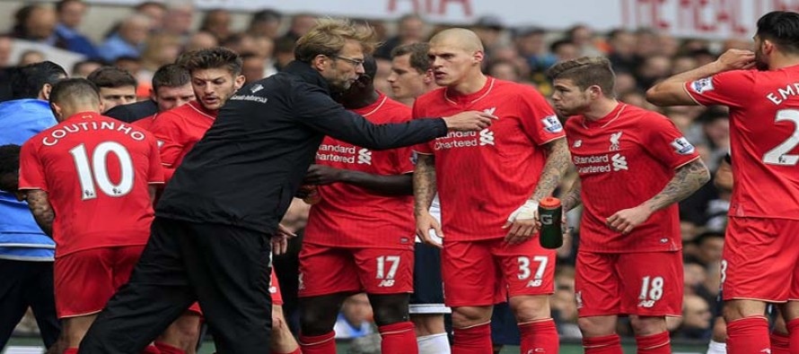 Klopp implores his Liverpool squad to create own history