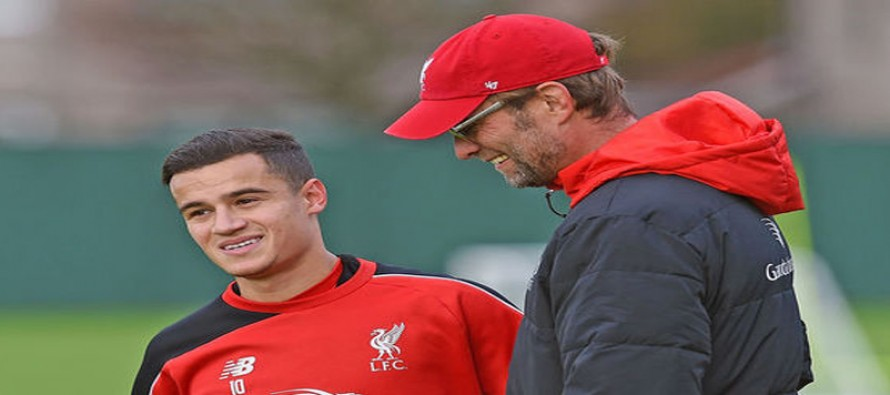 Klopp has given Liverpool winning mentality – Coutinho